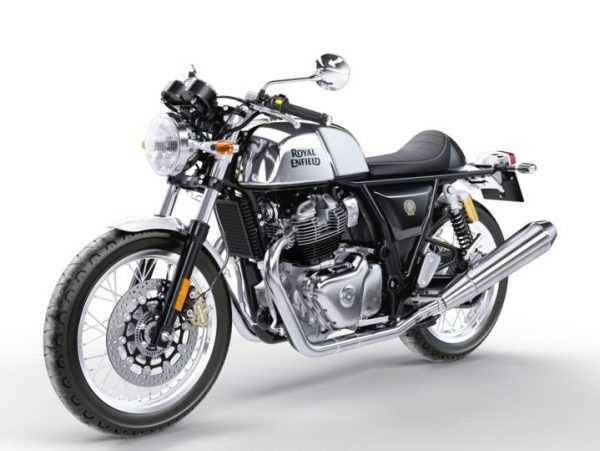 Moto Continental Royal Enfield GTS vista izquierda
